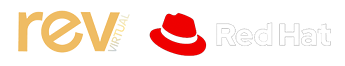 Rev Virtual Red Hat Logo